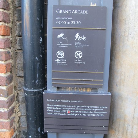 Cambridgeshire, UK: Grand Arcade  St. Andrews Street  Cambridge
