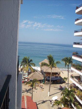 Gaviota Vallarta: View from 5th floor room balcony