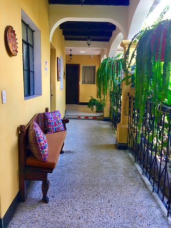 Hotel Posada San Vicente: Corredores