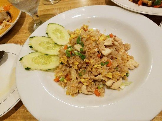Thai Garden Restaurant: Chicken Fried Rice