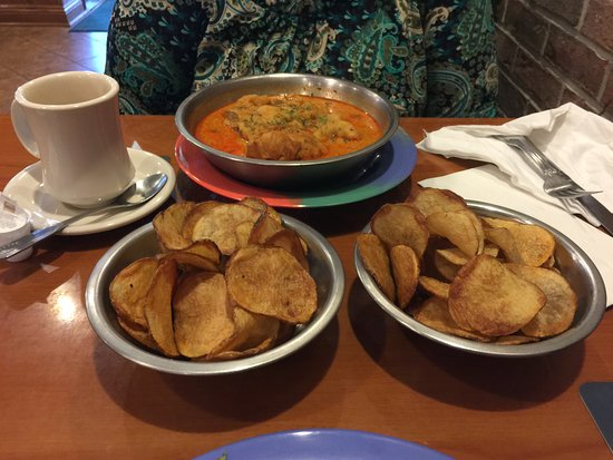 Barberton, OH: Diamond Fries and Chicken Paprikash