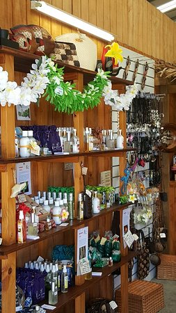 Avarua, Islas Cook: Great perfumed souvenirs and products