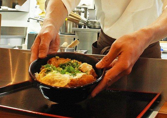 Katsudon Yoshibei Honten : Enjoy your meal!