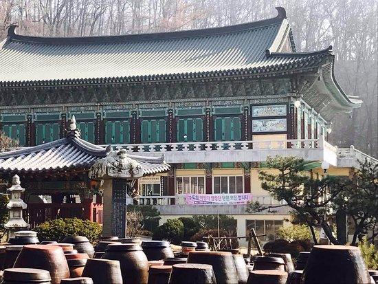 Cheongju, Νότια Κορέα: Буддийский храм