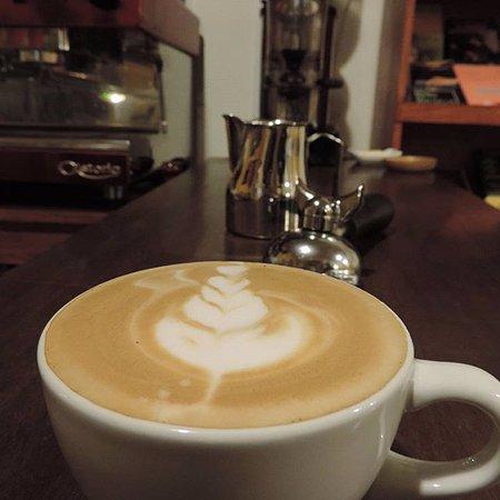 Huancavelica, Perú: solo a disfrutar este rico cappuccino.