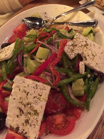 Great Falls, VA: Amazing Greek Village Salad