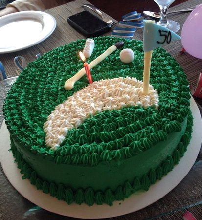 Wondrous Special Birthday Cake After Golf Picture Of Moon Palace Golf Personalised Birthday Cards Arneslily Jamesorg