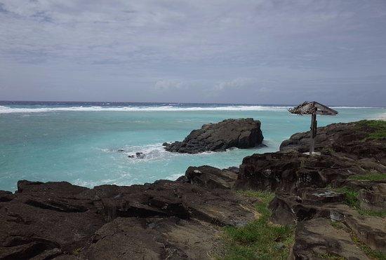 Black Rock Beach: 珍しく男性的な景色