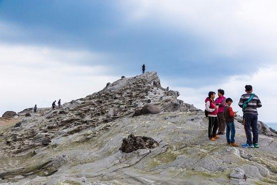 Shihtiping : 石梯坪單面山