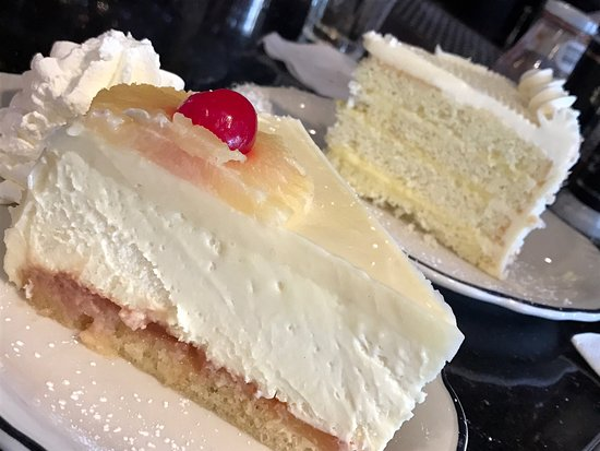 East Newark, NJ: Pineapple upside down cheesecake and coconut lemon cake