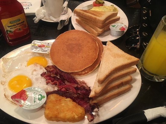 American Corner : Delicious breakfast