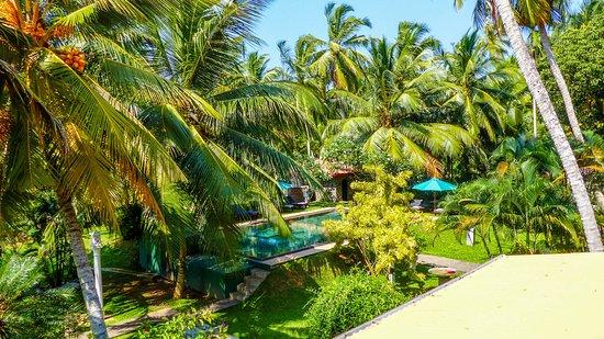 Shangri-Lanka Villa: view from balcony