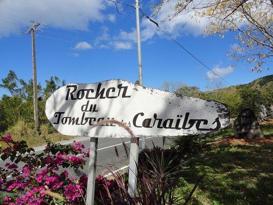 Le Precheur, Martinique: Rocher du Tombeau des Caraïbes