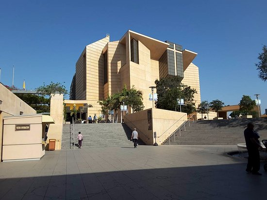 Photo of Monument / Landmark Cathedral of Our Lady of the Angels at 555 W Temple St, Los Angeles, CA 90012, United States