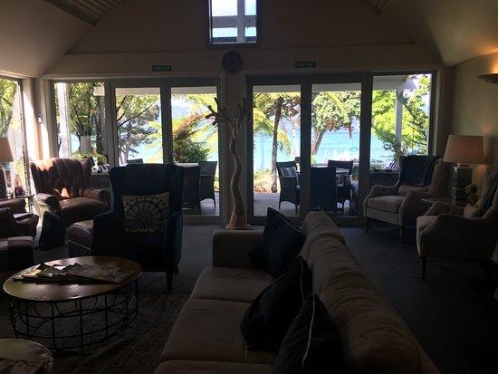 Marlborough Region, Nowa Zelandia: lounge with view