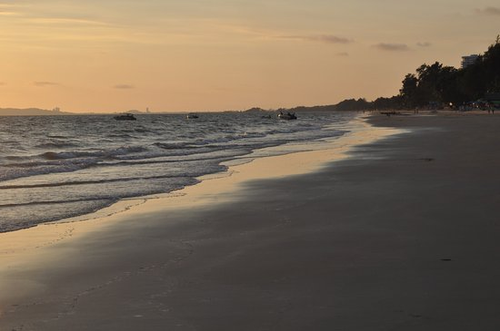 Spiaggia davanti all'Hotel Bansung Beach