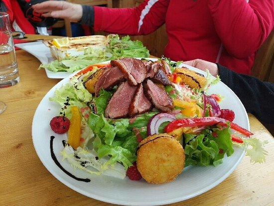 La Grande Ourse : Magret salad