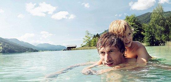 Østrig har masser af badesøer