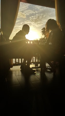 Buccoo, Tobago: Table view again