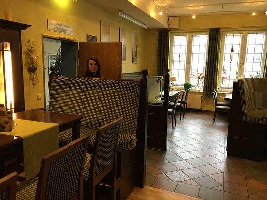 Hotel Restaurant Clemens-August: Tolles Ambiente im Restaurant