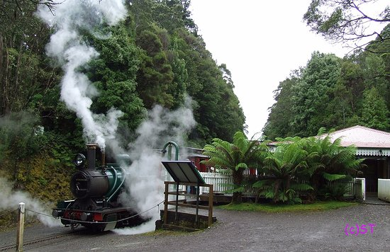 Queenstown, Australia: Steaming at Rinadeenna