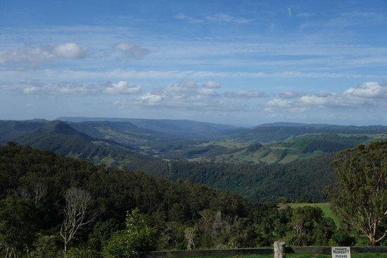 Southern Cross 4WD Tours: 山上全景