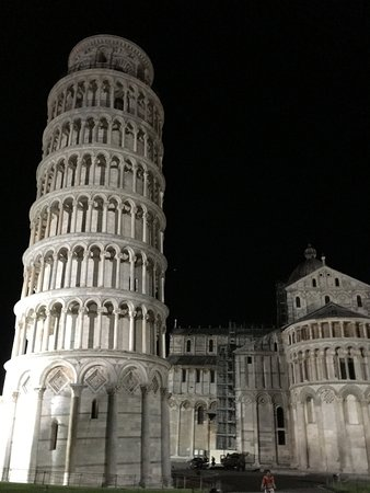 Provincia di Pisa, Italia: Leaning Tower of Pisa (night)