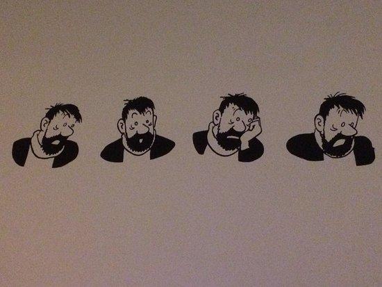 Musée Hergé : spreekt voor zich...