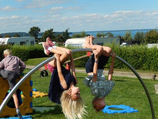 Asperup, Danmark: En af de fem legepladser