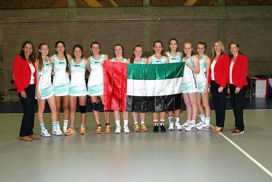 Antrim, UK: Team Dubai