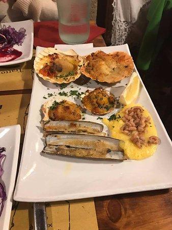 Trattoria Al Gazzettino: Cuisson et assaisonnement des fruits de mer.. parfait! Un rêve éveillé!