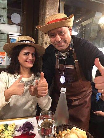 Trattoria Al Gazzettino: Chef Ridha!