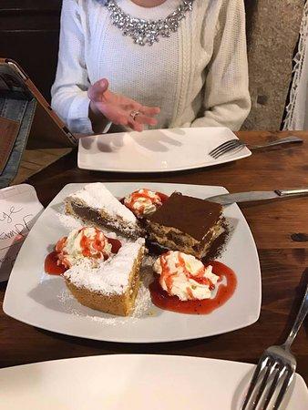 Trattoria Al Gazzettino: Plats généreux jusqu'au dessert!