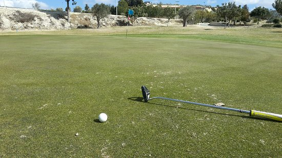 Minthis Hills Golf Club : Playing alone