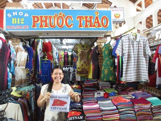 Cantho Market: Photo prise par Guy Lazignac_20592_170209_Ancien marché couvert_Cần Thơ_VN
