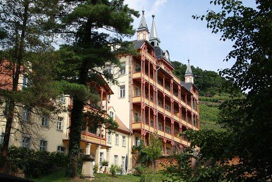 Stadtspiel (Ver-) Fuehrung: Bilz Sanatorium
