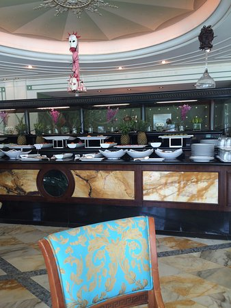 breakfast buffet picture of palazzo versace main beach. Black Bedroom Furniture Sets. Home Design Ideas