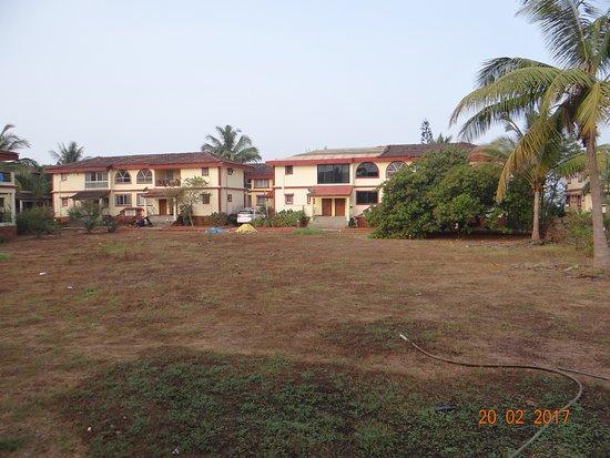 Colonia Jose' Menino Resort: выжженное сухое поле у обычных номеров((((