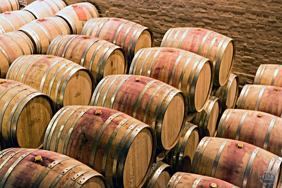 Constantia, แอฟริกาใต้: Wine Barrels in the maturing cellar.