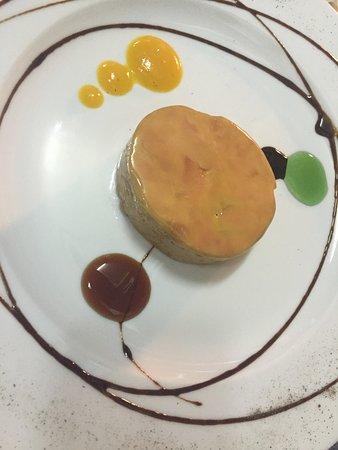 Restaurant La Esquina Del Real : Foie de canard mi-cuit La Esquina del Real