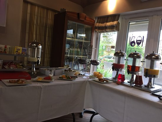 Milford Hall Hotel and Spa: Breakfast was nice