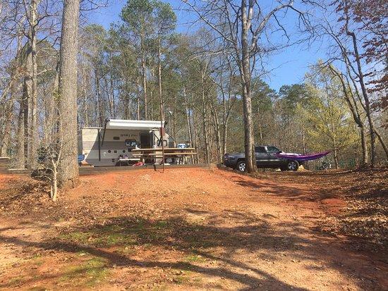 Pendleton, Güney Carolina: Site #36 from the lake
