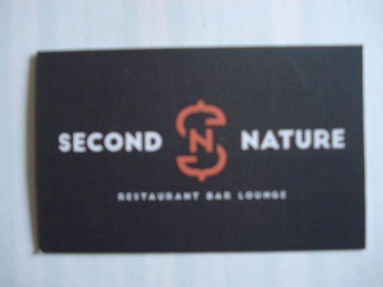 Second Nature La Carte De Visite