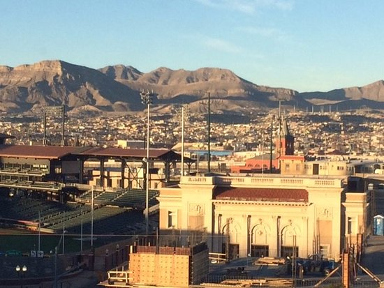 Doubletree Hotel El Paso Downtown/City Center: Looking south towards the new ballpark