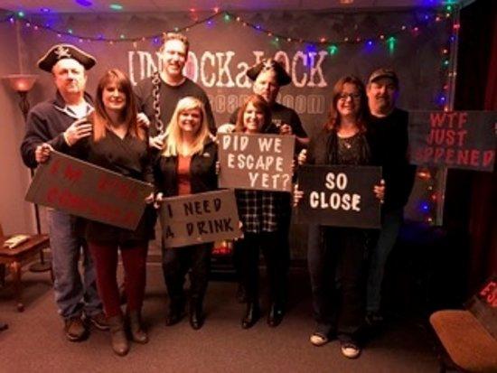 Lansing, IL: Escape Room