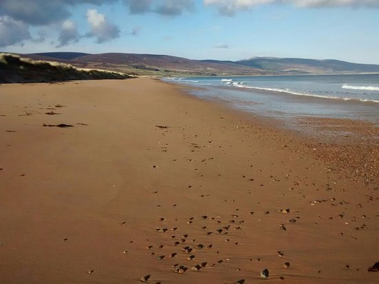 Brora, UK: Sandy beach
