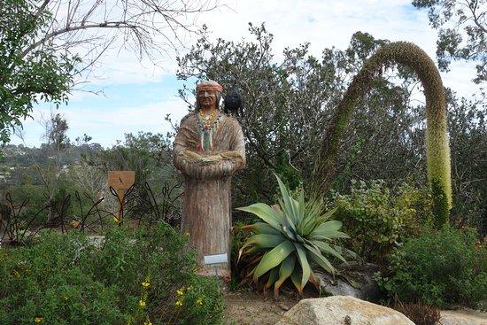 San Diego Botanic Garden: some interesting statuary