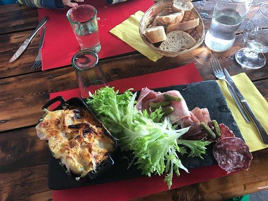 Enchastrayes, Γαλλία: Tartiflette
