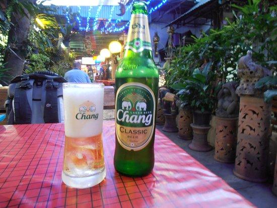 Oriental Garden Chiang Mai: Chang bier