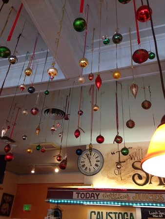 Ceiling of Cafe Sarafornia